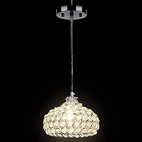 Amazon.com: Deluxe Colgante de vidrio luz moderno de araña ...