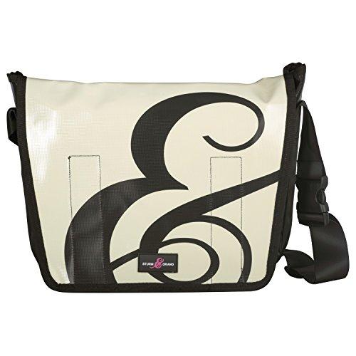 Sturm & Drang - Maxi messenger bag - Borsa in tela cerata - Borsa a tracolla - Università scuola