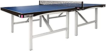 Butterfly Europa 25 Table Tennis Table | 1 Inch Thick Top | ITTF Approved for Ping Pong Tournaments | 5 Year Warranty | Professional Ping Pong Table