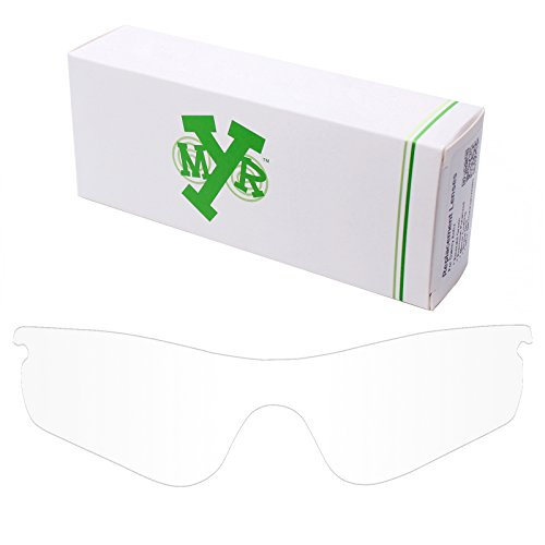 Mryok UV400 Replacement Lenses for Oakley RadarLock Path - HD - Lenses Radarlock Oakley Clear