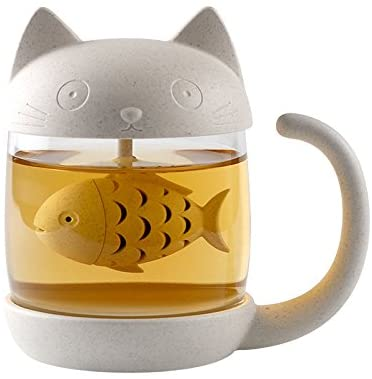 Carlie Glass Infuser Strainer Filter product image