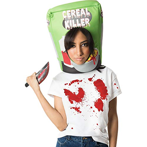 M&J Trimmings Papillion Accessories Cereal Killer Halloween Costume Accessory Kit for Adults, 2 -