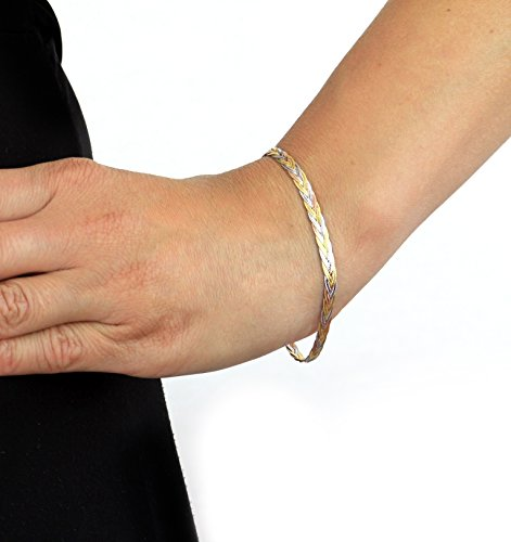 Carissima Gold - Bracelet Femme - 3.21.1391 - Or Tricolore 375/1000 (9 Cts) 2.79 Gr