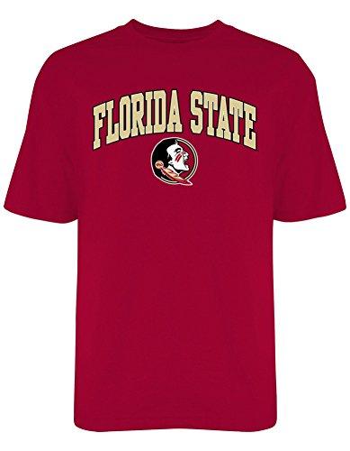Elite Fan Shop FSU Florida State Seminoles Mens TShirt Varsity Garnet - XL