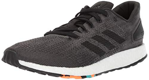 adidas Men's Pureboost DPR Running Shoe, Five/Dark Solid Grey Two, 11.5 Medium US