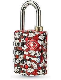 Disney TSA 3-Dial Combination Luggage Lock, Mickey Mouse, One Size