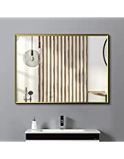 ANYHI Wall Mirror for Bathroom, Entryway, Living Room