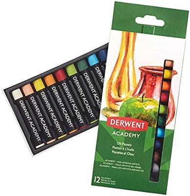 DERWENT 2301952 - Pack de 12 barras pintura pastel óleo: Amazon.es: Oficina y papelería