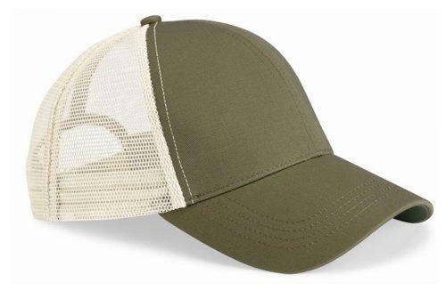 Econscious Trucker Cap, Adjustable, Jungle / Oyster