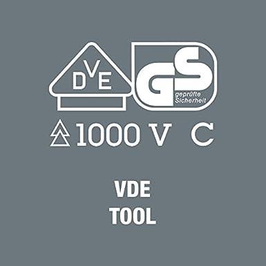 Wera 05671388001 Bolso Vac/ío Plegable para Juegos VDE de Hasta 18 Piezas 180 x 110 mm
