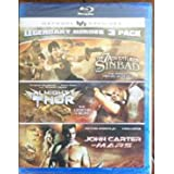 Legendary Heroes 3 Pack: The 7 Adventures of Sinbad/Almighty Thor/John Carter of Mars