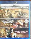 Legendary Heroes 3 Pack: The 7 Adventures of Sinbad/Almighty Thor/John Carter of Mars
