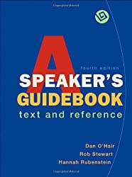 A Speaker's Guidebook: Text and Reference