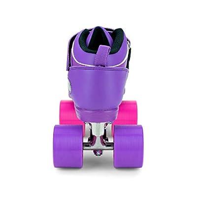 Riedell Skates - Dart Pixel - Quad Roller Speed Skate : Sports & Outdoors