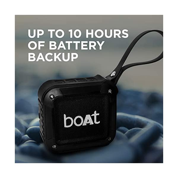 The Battery of Boat stone 200 is up to 10 hours. The backup of the Battery of this Boat Stone 200 is around 10 hours.