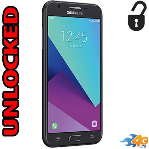 Samsung Galaxy express Prime 2 (2017) Unlocked 4G LTE J327A 16GB Quad Core LCD 5
