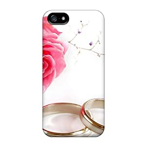 Premium Protection Happy Valentine's Day Case Cover For Iphone 5/5s- Retail Packaging