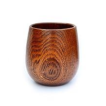 Homestia Wooden Tea Cup Natural Jujube Wood Handmade Gift 150ml/5oz