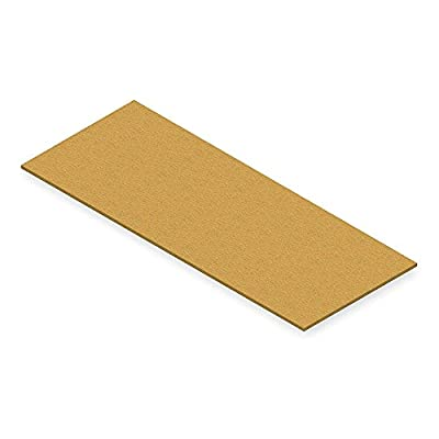Particle Board Decking, 60 In. W, Gray PB-6024-3