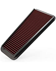 K&N 33-2281 Performance Air Filter with Filter Care Service Kit