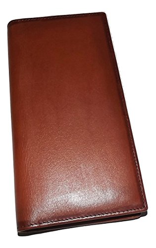 Mancini Men's Belting Leather RFID Blocking Breast Pocket Secretary Wallet - Breast Secretary Wallet Mens