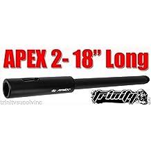 "Bt Apex2 18"" Long For Us Army Alpha Black Elite Paintball Gun, Tippmann Accessories Barrel"