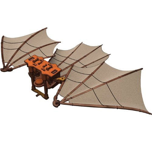 Edu-Toys  Leonardo Da Vinci   Great Kite Da Vinci Flying Machine