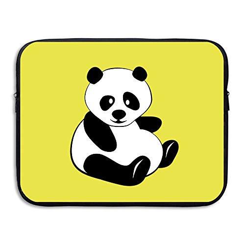Water-resistant Laptop Bags Chubby Panda Ultrabook Briefcase Sleeve Case Bags 13 Inch]()
