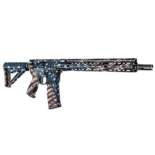 GunSkins AR-15 Rifle Skin Camouflage Kit DIY Vinyl Wrap with precut Pieces (Proveil Victory)
