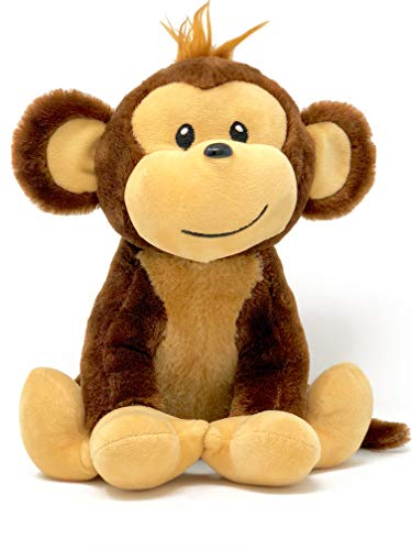 Stuffed Monkey Cute Plush Animal | Great Gift for Any Registry or Baby Shower! New and Expecting Mom's Will Love This!