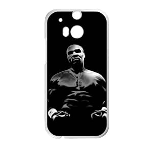 HTC One M8 Cell Phone Case White Mike Tyson 002 Delicate gift JIS_338318