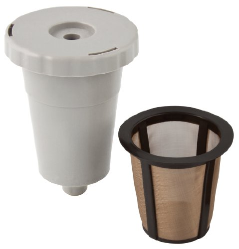 Gold Tone K-Cup Reusable Starter Pack, Includes filter system & filter basket.