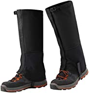 Cyberone Waterproof Hiking Gaiters Leg Gaiters, Rain/Snow/Bite/Dust/Mud/Climbing Ankle Leg Guards Full Protect