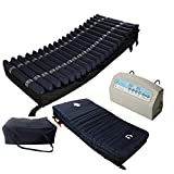 Medical MedAir Low Air Loss Mattress Replacement System with Alarm, 8'' with Quilted Cover Fully Digital with Remote Control