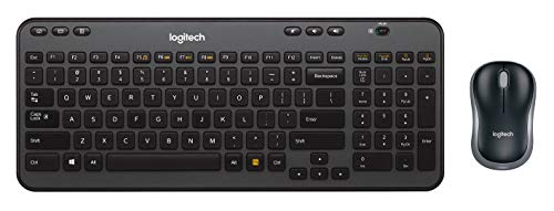 Logitech Wireless Combo MK360 - Includes Keyboard with 12 Programmable Keys and Wireless Mouse, Compact Package Perfect for Travel, 3-Year Battery Life