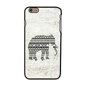 Mini - Elephant Style Plastic Hard Back Cover for iPhone 6 Plus