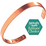Pure Copper Magnetic Therapy Bracelet For Arthritis, Rheumatoid Arthritis, RSI, Carpal Tunnel, Migraines & Fatigue