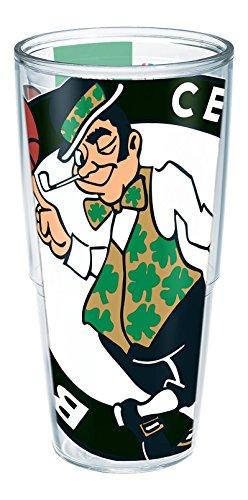 Tervis 1196807 ''NBA Boston Celtics'' Tumbler, Wrap, 24 oz, Clear by Tervis