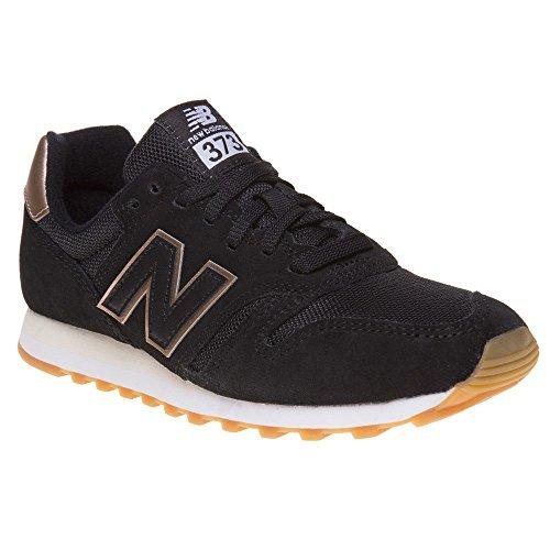Balance 373 Femme Noir Mode New Noir Baskets dZF8wOxdqT