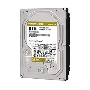 "WD Gold 8TB Enterprise Class Internal Hard Drive - 7200 RPM Class, SATA 6 Gb/s, 256 MB Cache, 3.5"" - WD8004FRYZ"