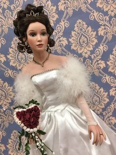 Winter Spelendor Bride - Bridal (Brunette Bride Doll)