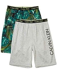 Boys' Lounge Pajama Shorts, 2 Pack