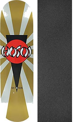 Hosoi Skateboards Christian Hosoi Rising B07KCL9GQJ Sun アソートカラー Christian スケートボードデッキ - Rising 8インチ x 32インチ Jessupブラックグリップテープ付き - 2点セット B07KCL9GQJ, PEN AND PAGE MARUYOSHI:5b86cad2 --- grupocmq.com