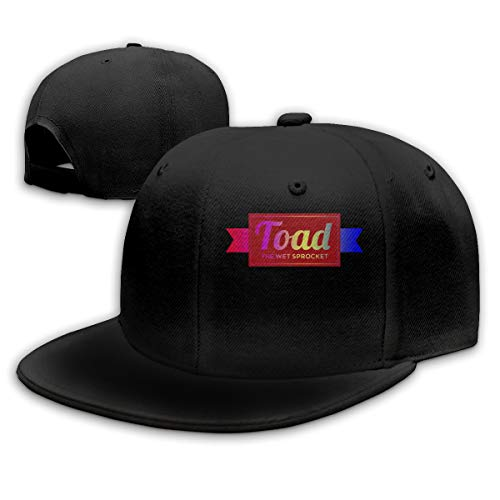 (SCIOP8XH Soft Slim-fit Toad The Wet Sprocket Fashionable Baseball Cap for Mens&Womens Black)