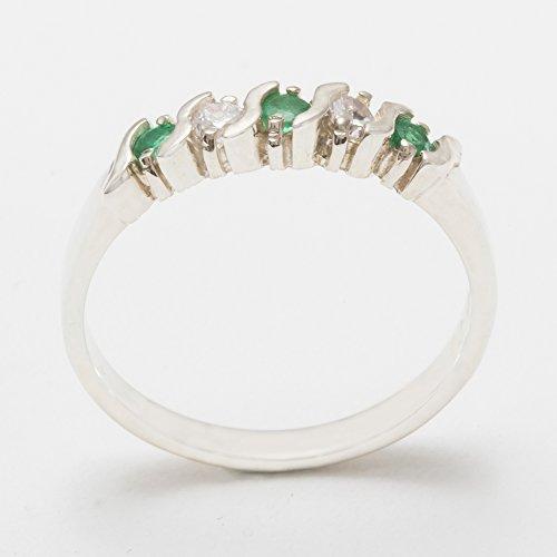 Buy estate ring diamond emerald