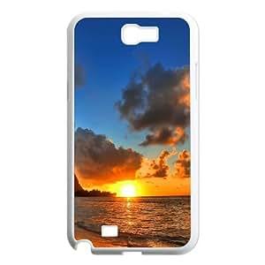 Samsung Galaxy N2 7100 Cell Phone Case White Beach Generic Fashion Phone Case Cover CZOIEQWMXN14094