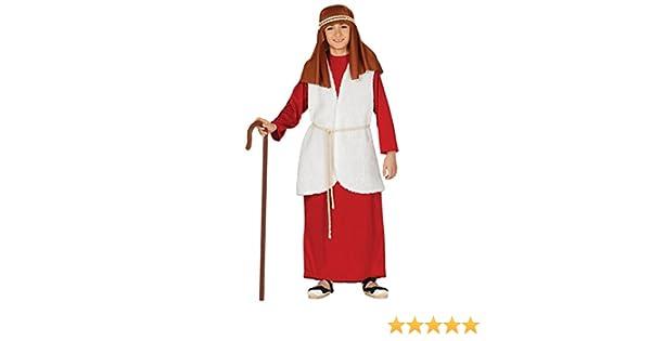 Disfraz de Hebreo Rojo para niño: Amazon.es: Juguetes y juegos