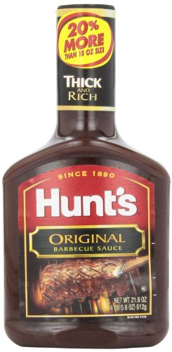 Hunt's Original BBQ Sauce, 18 oz