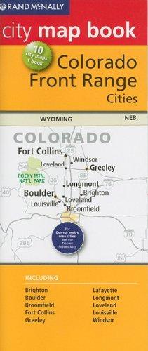 Rand McNally City Map Book: Colorado Front Range (Rand McNally City Map Books) (Front Range Map)