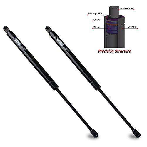 Beneges 2PCs Liftgate Lift Supports Compatible with 2005-2013 Nissan Xterra Rear Hatch Tailgate Gas Spring Charged Struts Shocks Dampers 90451ZL80A, 6137